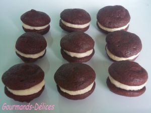 Recette Whoopies Pies au chamallow