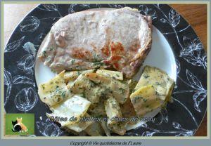 Recette Côtes de blettes et côtes de veau