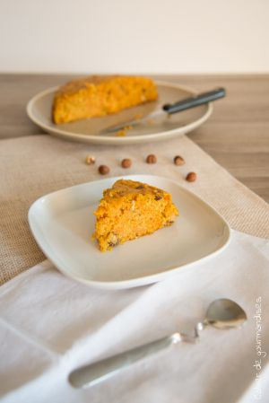 Recette Carrot cake léger aux noisettes