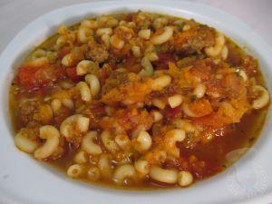 Recette Soupe bolognaise