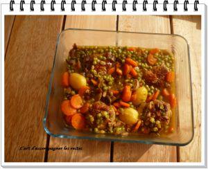 Recette Paupiette de veau aux légumes au cookéo