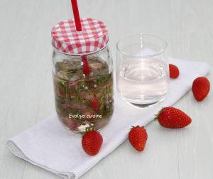 Recette Eau de fraises