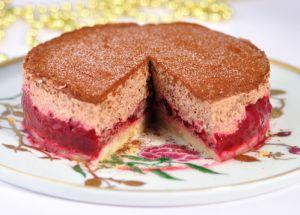 Recette Entremets chocolat framboises