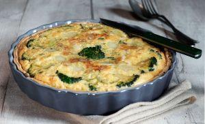 Recette Tarte au brocoli et gorgonzola