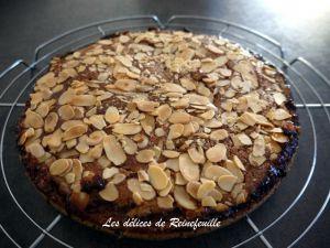 Recette Gâteau amandine à la confiture (végétalien)