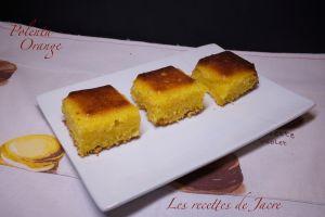Recette Gâteau à la polenta
