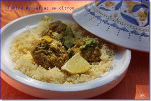Recette Tagine de keftas aux épices et au citron