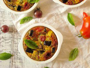Recette Frittata aux legumes du soleil