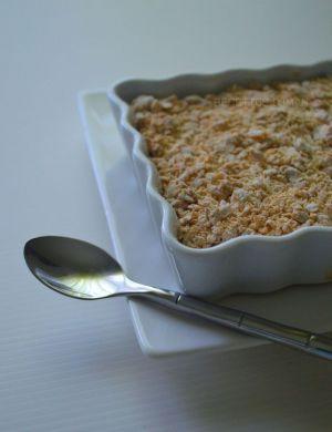 Recette Crumble sans beurre aux pommes & au chocolat