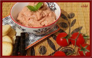 Recette Tartinade de tomates séchées