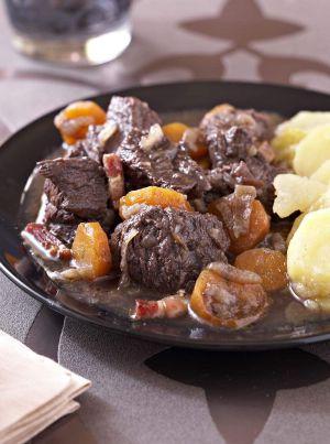 Recette Bœuf bourguignon Cookeo