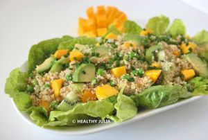 Recette Salade de quinoa à la mangue