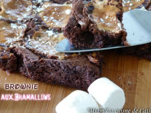 Recette Brownie aux Chamallows