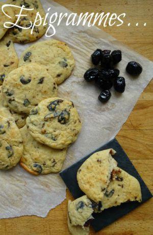 Recette Cookies « Apéro » aux Olives Noires & Parmesan (et Haricots Blancs)