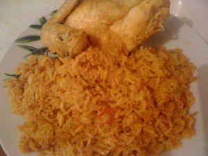 Recette Cuisses de poulet au riz