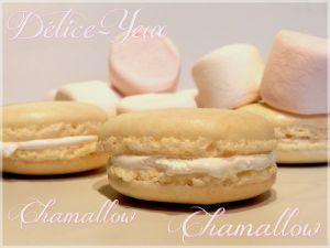 Recette Macarons aux Chamallows