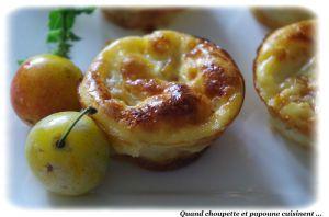 Recette Mini-flans aux petits fruits d'ors de lorraine