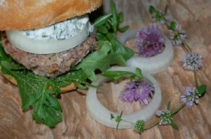 Recette Street food: hamburgers mouton, menthe, chèvre