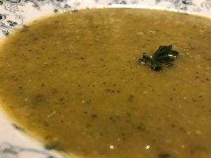 Recette Soupe carottes courgettes au Saint-Môret