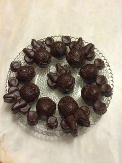 Recette Chocolats Minnie Mouse