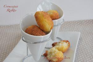 Recette Cromesquis de risotto