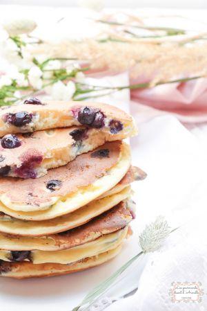 Recette Pancakes aux myrtilles
