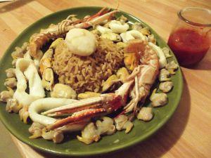 Recette Riz pilaf aux fruits de mer