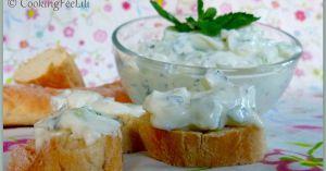 Recette Tzatziki au fromage de chèvre frais