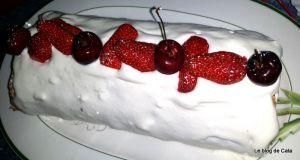 Recette Roulade aux fraises