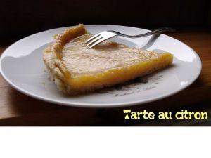 Recette Tarte au citron meringuée ou non !
