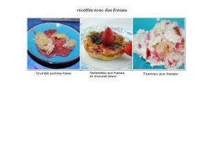 Recette Avec de la fraise