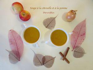 Recette Soupe à la citrouille et à la pomme