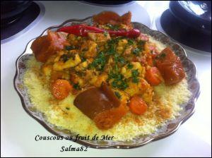 Recette Couscous au fruit de mer