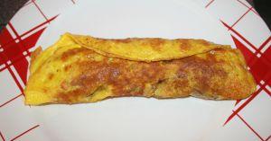 Recette Omelette roulée aux chipolatas ou merguez