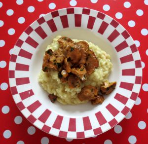 Recette Risotto aux girolles