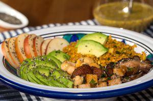Recette Salade santé vitaminée aux graines de chia