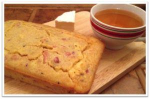 Recette Cake au camembert, cidre et lardons