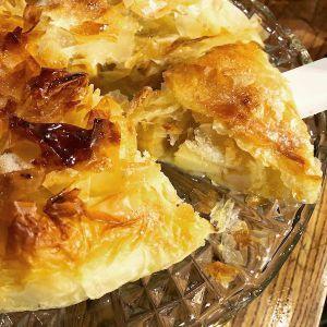 Recette Croustade aux pommes en pâte filo