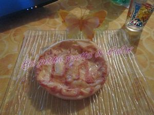 Recette Tarte poires-maroilles