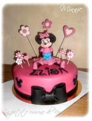Recette Gâteau d'anniversaire Minnie