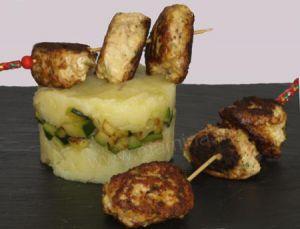 Recette Cuisine chic pour enfants by mamina: poulet, pomme de terre, courgette