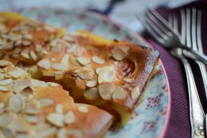 Recette Clafoutis aux abricots et amandes