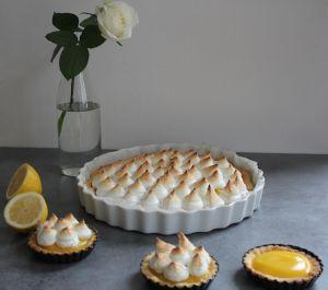Recette Tarte au citron meringuée sans gluten