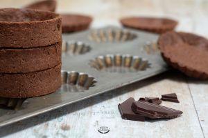 Recette Pâte sucrée au chocolat
