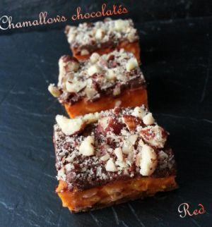 Recette Chamallows ou guimauves chocolatées