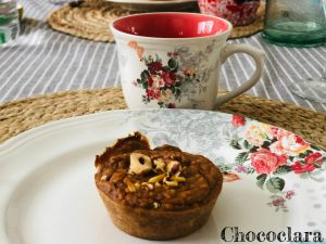 Recette Moelleux à la patate douce, farine de châtaigne et noisettes de Tarek