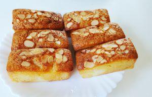 Recette Petits moelleux poire amandes au Cake Factory