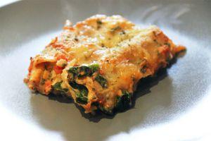 Recette Lasagnes aux épinards, ricotta et mozzarella