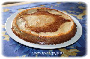Recette Gâteau mousse bananes
