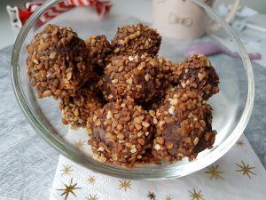 Recette Truffes chocolat, pâte à tartiner
